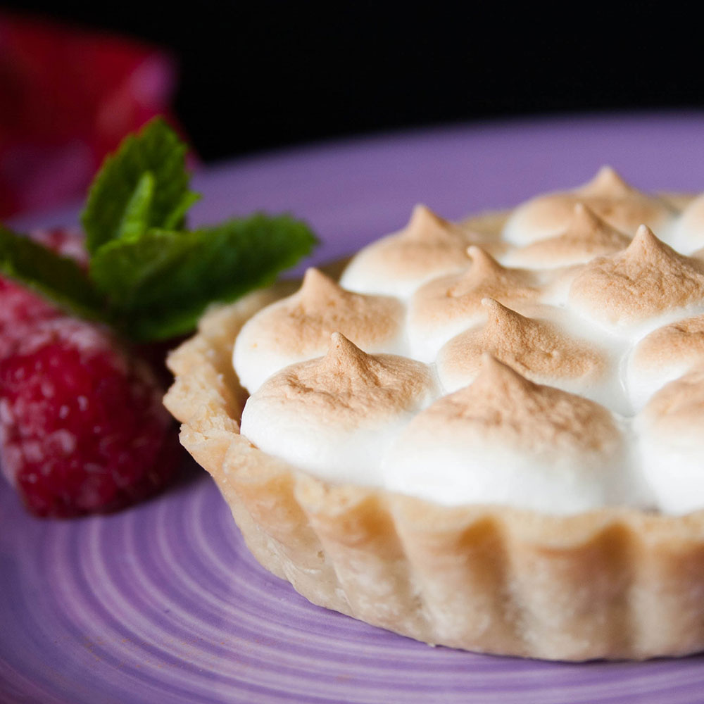 Raspberry Meringue Tart