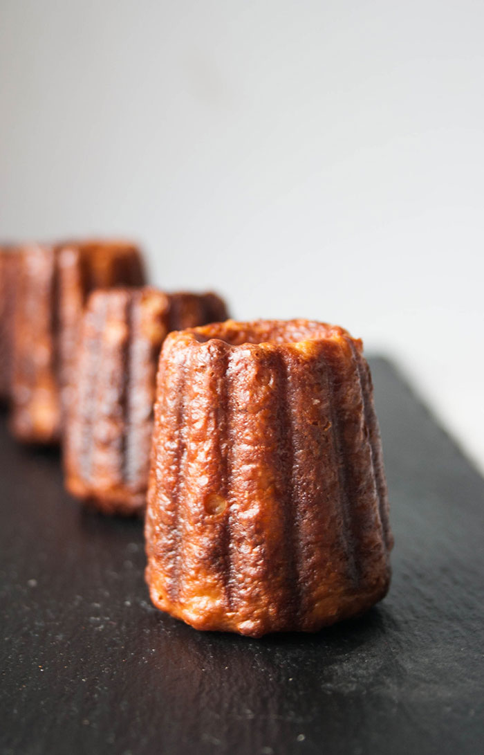 Crispy & light French Caneles Recipe