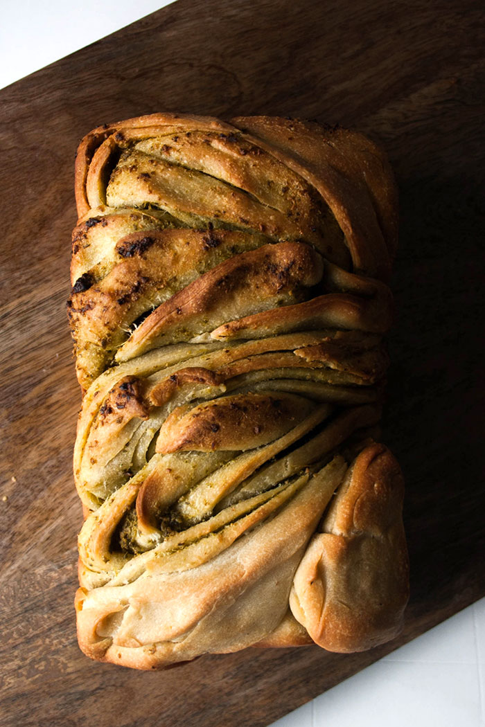 Braided bread is perfect beside any dinner