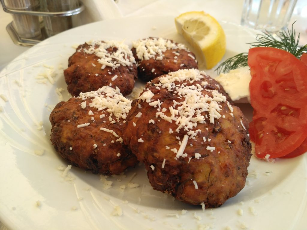 Zicchini fritters are a delicacy in Athens