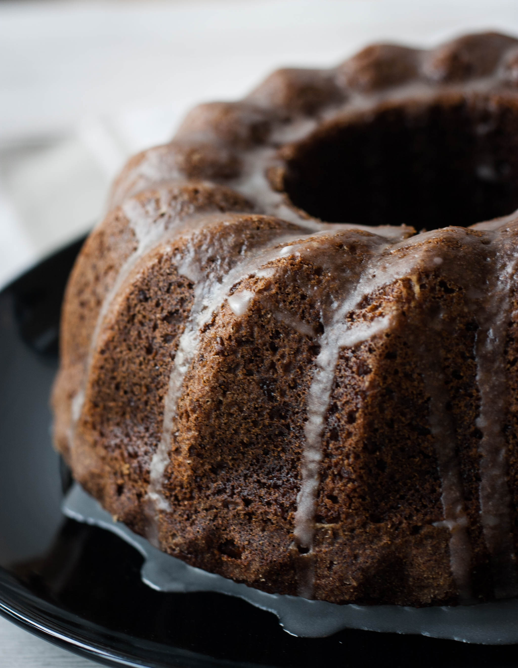 Why not replace traditional Christmas cake with this sticky ginger cake recipe?